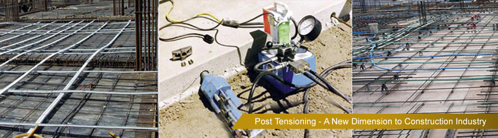 Post Tensioning Companies in India | Post Tensioning